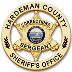 Corrections Sergeant Badge